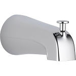 Delta U1075-PK Universal Showering Components Diverter Tub Spout Chrome Finish