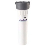 Doulton W9330062 Single Housing Inline with Sterasyl Candle 10 inch No Faucet Install Kit