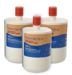 Water Sentinel WSL-1 Refrigerator Filter | LG LT500P Compatible | 3 Pack