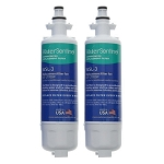 Water Sentinel WSL-3 Refrigerator Filter | LG LT700P Compatible | 2 Pack