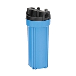 YT-10BL-6 Heavy Duty Blue Filter Housing for 10 inch x 2 1/2 inch Cartridge with 3/4 inch Port