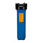 YTB-20-BL1-PR Heavy Duty Blue Filter Housing for for Full Flow/BB 20 inch x 4 1/2 inch Cartridge with 1 inch Port