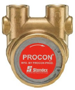 Procon 104E215F11BA250 1/2 inch NPT Port Bolt-on 250 PSI 215 GPH Brass Pump
