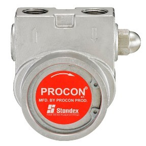Procon 105A165F31XX 1/2 inch NPT Port Clamp-on 165 GPH Stainless Steel Pump