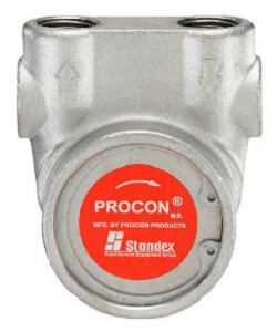 Procon 113B100F31BA225 3/8 inch NPT Port Clamp-on 225 PSI 100 GPH NSF Stainless Steel Pump