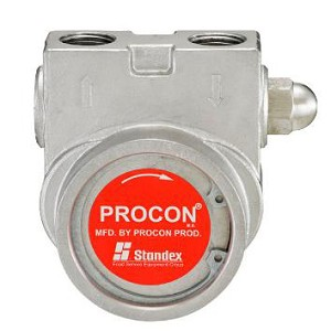 Procon 115B240F31BA170 1/2 inch NPT Port Clamp-on 170 PSI 240 GPH NSF Stainless Steel Pump