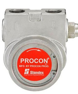 Procon 115B330F31XX 1/2 inch NPT Port Clamp-on 330 GPH NSF Stainless Steel Pump