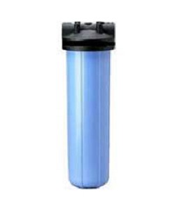 Pentek 150468 Hepp 20 Big Blue Filter Housing with 3/4 Caps without PR
