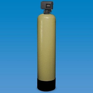 Structural 25-2.5-C40 13 inch x 54 inch Poly Glass Backwahing Carbon Whole House Filter with Fleck 2510 Valve