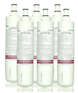 4396510 Whirlpool Refrigerator Water Filter NLC250 - 6 Pack