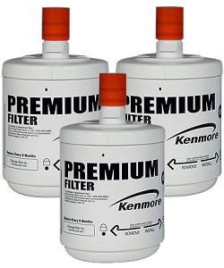 Kenmore 9890 / GEN11042FR-08 Water Filter - LG LT500P Replacement - 3 Pack