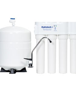Hydrotech 4VTFC25G-PB 4 Stage 25 GPD Reverse Osmosis Systems with Push Button Monitor