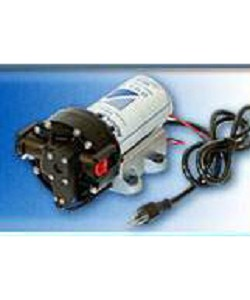 Aquatec 5513-1E01-B606 6 GPM 60 PSI 1/2 inch F 120V Super Flow Delivery/Demand Pump without Cord