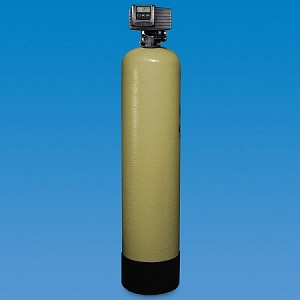 Structural 56-2-C40 12 inch x 52 inch Poly Glass Backwahing Carbon Whole House Filter with Fleck 5600 Valve