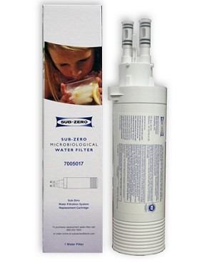 Sub Zero 7005017 Microbiological Refrigerator Water Filter