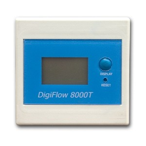 Savant 8000T Single Function Digital Meter Totalizer with 3/8 inch FNPT Batterie