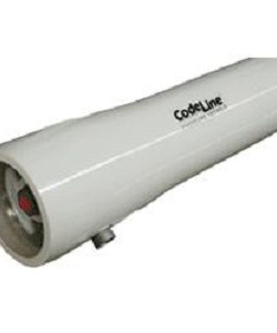 CodeLine 80S30-2 8 x 80 300PSI End Port Fiberglass Vessel Membrane Housing