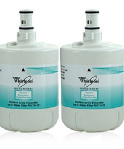 8171413 Whirlpool Refrigerator Water Filter - 2 Pack