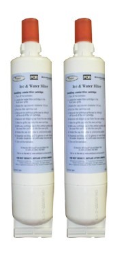 Whirlpool 8212491 Refrigerator Water Filter - 2 Pack
