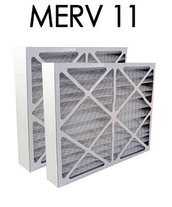 Space Gard 16x28x6 Furnace Filter MERV 11 2 Pack