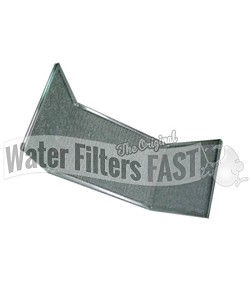 "Duraflow AW19375 Wing Filter - 9-1/2 x 30 x 3/8 -8"" wings"
