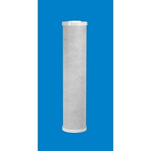 Caware BCBC-20(1) 1 µ 20 inch x 4 1/2 inch Coconut Shell Carbon Block Cartridge