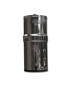 Royal Berkey 3.25 Gallon SS Water Purifier | Includes 4 9 inch Ceramic Filters