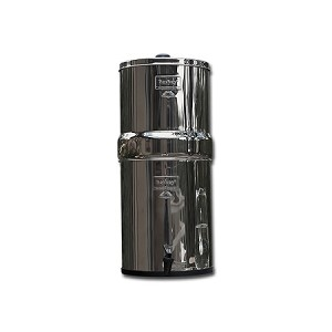Crown Berkey 6 Gallon SS Water Purifier | Includes 8 Filter Elements