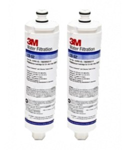 CUNO CS-52 Bosch 640565 Refrigerator Water Filter - 2 Pack
