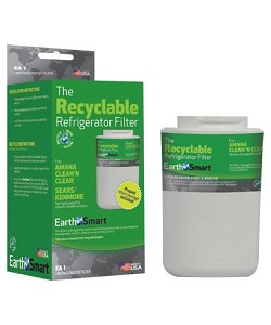 EarthSmart EA-1 Recyclable Refrigerator Filter | Amana WF401S