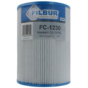 Filbur FC-1230, Hayward CX-250RE Pool & Spa Filter