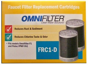 Omni FRC1-D Replacement Faucet Filters (2-Pack)