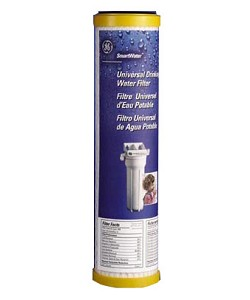 "FXULC GE SmartWater Undersink Filter Replacement Cartridge 9-3/4"" x 2-1/2"""