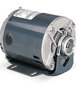 GE H714 3/4 HP 1-Phase 115/230V Nema 48YZ Clamp-on Carbonator Motor