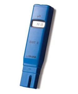 Hanna HI98303 Dist-3 0-1999 µS/CM ATC 1 µS/CM Resolution Pocket Conductivity Meter