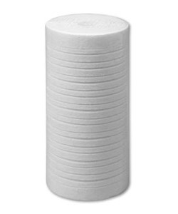 LF-PP-005-249-B-G 9 7/8 inch � 4 1/2 inch 5 µ Grooved Melt Blown Polypropylene Sediment Cartridge