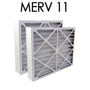 Air Bear 16x25x5 Furnace Compatible Filter MERV 11 2 Pack