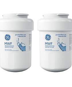 MWF GE SmartWater Refrigerator Replacement Water Filter Cartridge - 2 Pack