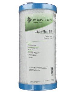 Pentek ChlorPlus-10BB Chloramine Filter Cartridge Replacement