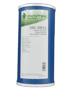 Pentek DBC-10EX2   10 inch x 4.5 inch Big Blue Whole House Filter