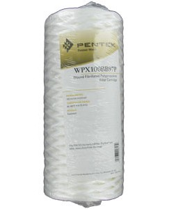 Pentek WPX100BB97P   10 inch Whole House Big Blue Sediment Filter