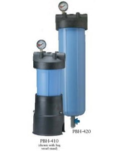 Pentek PBH-420, PBH-420-1 Bag Filter Assembly Filtration System