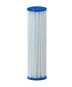 20 Micron Pleated Polyester Sediment Filter - 2.5 x 10