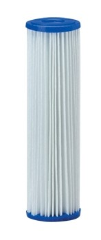 5 Micron Pleated Polyester Sediment Filter - 2.5 x 10