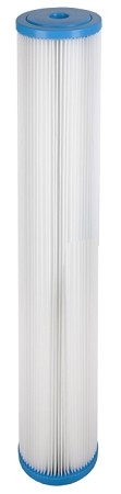 5 Micron Pleated Polyester Sediment Filter 2.5 x 20