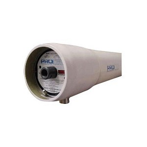 "Protec PRO-8-1200-SP-2 8"" x 80"" FRP1200 PSI SP 1.5V Protec Membrane Housing"