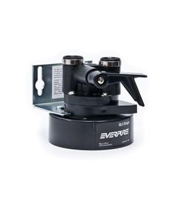 Everpure EV9259-14 QL3 Single Filter Head with Bracket Shut-off valve and 3-8 inch NPT threads