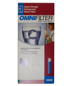 OmniFilter R800 Quick Change Refrigerator Water Filter