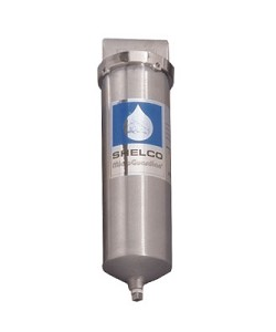 Shelco RHS-78 316L Stainless Steel 9 3/4 inch Single Cartridge Housing