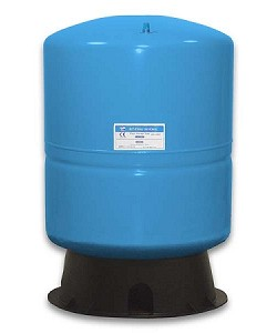 RO-1070-BL 14 Gallon Metal Blue PA-E Large Bladder Tank